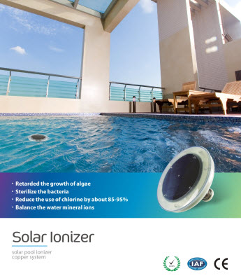 Solar floater ionizer 4pools - Swimming pool ionizer ...