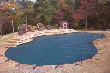Residential & Commercial Winter Debris Swimming Pool Covers