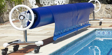 Swimming pool Rollers,cover removal and storage,manual and automatic