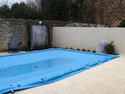 stock sizes Armorkote water bag pool covers